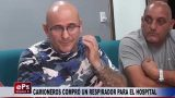 CAMIONEROS COMPRÓ UN RESPIRADOR PARA EL HOSPITAL