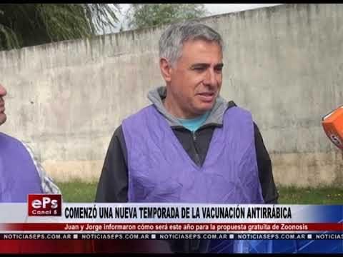 COMENZÓ UNA NUEVA TEMPORADA DE LA VACUNACIÓN ANTIRRÁBICA