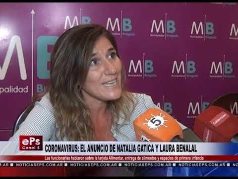 CORONAVIRUS EL ANUNCIO DE NATALIA GATICA Y LAURA BENALAL