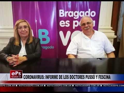 CORONAVIRUS INFORME DE LOS DOCTORES PUSSÓ Y FESCINA