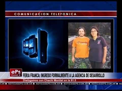 FERIA FRANCA INGRESO FORMALMENTE A LA AGENCIA DE DESARROLLO