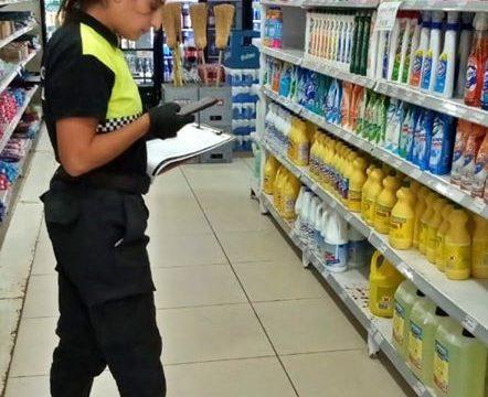 OMIC REALIZO CONTROLES DE PRECIOS EN SUPERMERCADOS