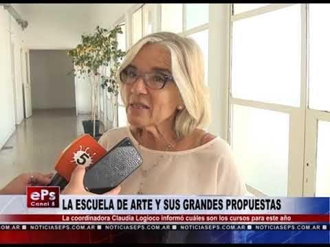LA ESCUELA DE ARTE Y SUS GRANDES PROPUESTAS