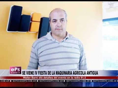 SE VIENE IV FIESTA DE LA MAQUINARIA AGRICOLA ANTIGUA