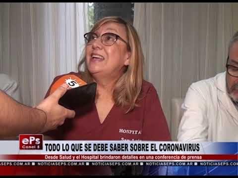 TODO LO QUE SE DEBE SABER SOBRE EL CORONAVIRUS