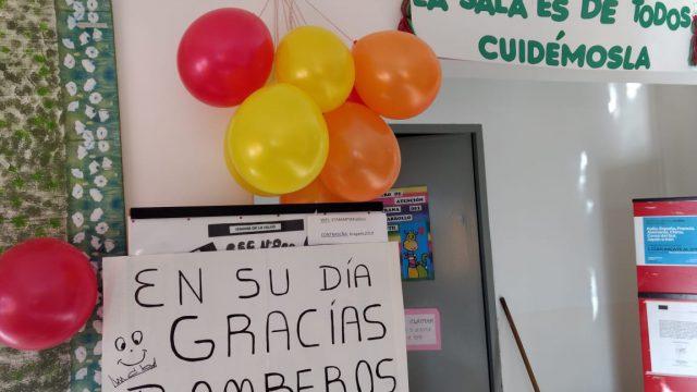 EL HOMENAJE DEL CAPS SANTA MARTA A LOS BOMBEROS