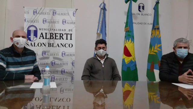 ALBERTI: UN BRAGADENSE PRESENTÓ SÍNTOMAS Y AISLARON A 70 VECINOS